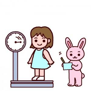 体重計イラスト1