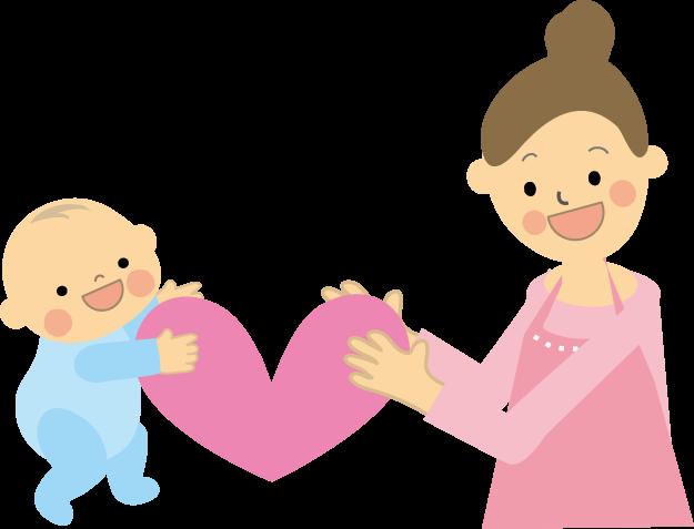 出産後女性イラスト