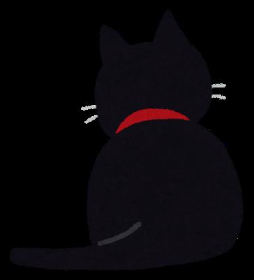 猫背画像(後姿)